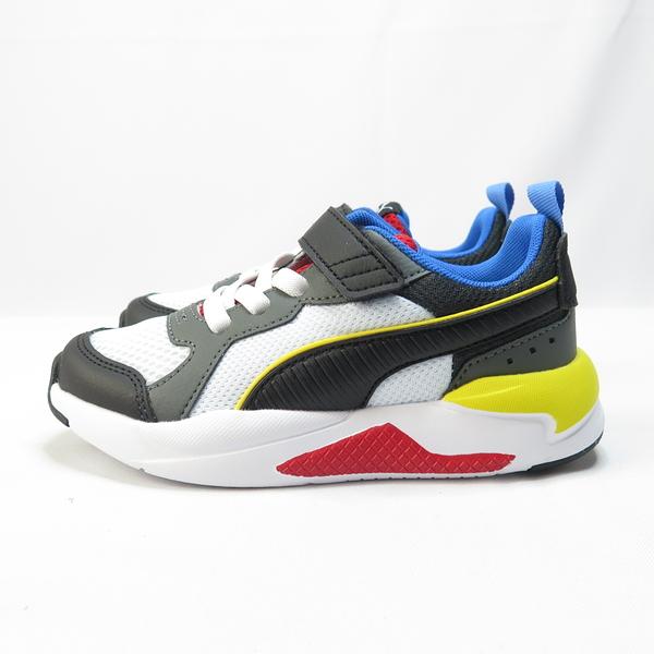 PUMA X-RAY AC PS 中童 魔鬼氈 休閒鞋 37292103 黑x黃【iSport】