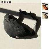 出清 運動腰包 帆布胸包 現貨 免運費 日本品牌【coen】