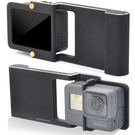 DJI OSMO mobile M1 hero4 hero5大疆手機手持穩定器三軸穩定器智雲銳拍GoPro轉接片轉接板