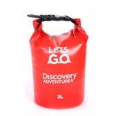 Discovery 防水包-紅(3L)【愛買】