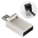 32GB創見JetFlash 880 USB3.0 OTG隨身碟(公司貨終身保固)【iPlug易購網】