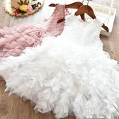 女童韓版公主裙兒童洋裝洋氣蓬蓬紗裙春夏款中小童禮服裙 歐韓時代