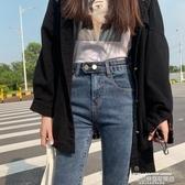 窄管褲牛仔褲女2020秋冬新款高腰修身顯瘦顯高百搭緊身小腳鉛筆褲潮