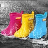 兒童雨鞋中筒防滑寶寶雨靴 男女童春秋小孩水鞋 日本輕便防滑膠鞋【蘇荷精品女裝】