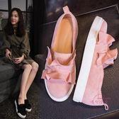 (低價促銷)孕婦鞋 新品夏季豆豆一腳蹬單鞋樂福鞋平底正韓孕婦秋鞋百搭女鞋