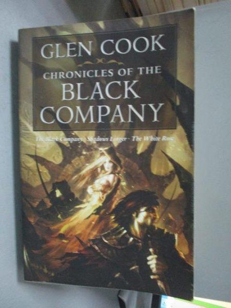 【書寶二手書T8/原文小說_QXM】Chronicles of the Black Company_Cook, Glen