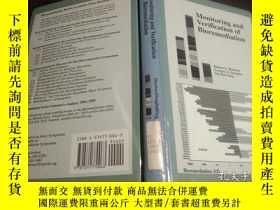 二手書博民逛書店日英法德意等外文原版罕見Monitoring and verification of Bioremediation