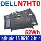 戴爾 DELL N7HT0 52Wh . 電池 TVKGH(88Wh) latitude 15 9510 2-in-1