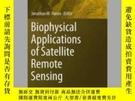 二手書博民逛書店Biophysical罕見Applications of Satellite Remote SensingY4