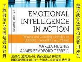 二手書博民逛書店Emotional罕見Intelligence in Action: Training and Coaching