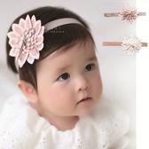多層刺繡花朵髮帶 兒童髮飾 髮帶 造型髮帶