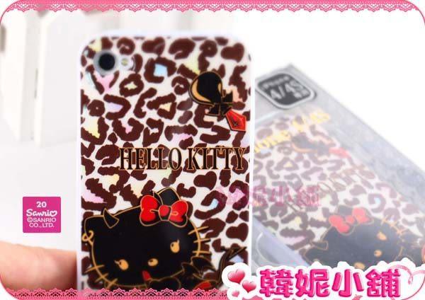 韓妮小舖 Hello Kitty IPHONE4/4S專用手機殼 保護殼 手機硬殼【HD368】