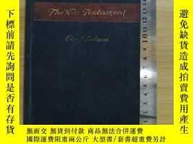 二手書博民逛書店民國25年--The罕見New testament --品不錯---Y152263 Goodspeed 出