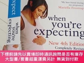 二手書博民逛書店WHAT罕見TO EXPECT WHEN YOU RE EXPECTING 4TH EDITION-當你期待第四版