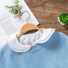 朵曼堤.假領子 超甜美上衣翻領領子尖領韓版針織衫毛衣內搭百搭滿額送愛康衛生棉[E30201] 預購