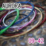 AURORA 美國進口粉紅色電吉他弦(09-42)