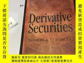 二手書博民逛書店英文原版:Derivative罕見Securities 精裝本Y
