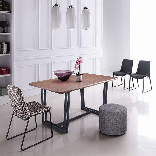 【森可家居】黑爵士餐桌(不含椅) 7JX224-4