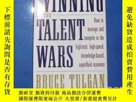 二手書博民逛書店WINNING罕見THE TALENT WARSY207801