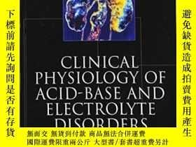 二手書博民逛書店Clinical罕見Physiology Of Acid-base And Electrolyte Disorde