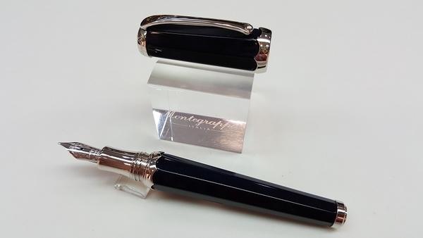 萬特佳Montegrappa-義大利書寫精品第一品牌-鋼珠筆-188698(FP)(黑)