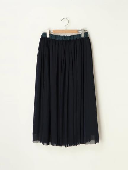 ❖ Hot item ❖ 2Way正反兩穿鬆緊腰設計薄紗長裙 (提醒➯SM2僅單一尺寸) - Sm2