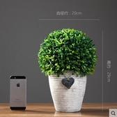 仿真植物裝飾盆栽盆景樹球綠植假花客廳室內桌面現代簡約裝飾品 晴天時尚