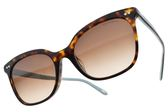 Tiffany&CO.太陽眼鏡 TF4140F 8015-3B (琥珀棕藍-漸層棕鏡片) 潮流貓眼款 墨鏡 # 金橘眼鏡