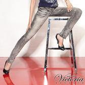 Victoria Victoria直筒褲-女-灰色