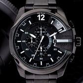 DIESEL | DZ4283  不鏽鋼粗曠風度三眼腕錶