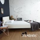 床墊-TENDAYs 3.5尺加大單人8.5cm厚-DISCOVERY柔眠記憶床墊(晨曦白)