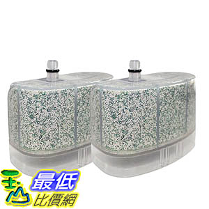 [106美國直購] 2 Bissell Vacuum Cleaner Water-Calcium Filters; Fits The Bissell Vacuum Steam Mop 218-5600