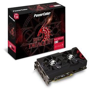 【綠蔭-免運】撼訊AXRX570 4GBD5-3DHDV2/OC RedDragon 4G GDDR5 256bit AMD顯示卡