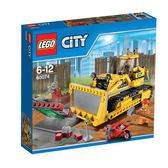 【LEGO 樂高積木】City 城市系列 - 堆土機 LT-60074