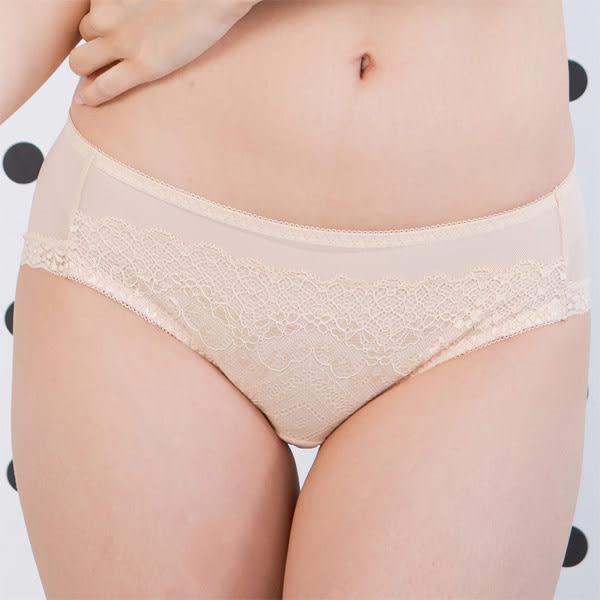 華歌爾-輕呼吸系列-星空花語M-L中低腰三角褲(輕透膚)QS2386-OR