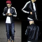 【找到自己】韓國 皮衣 皮外套 棒球外套 簡約