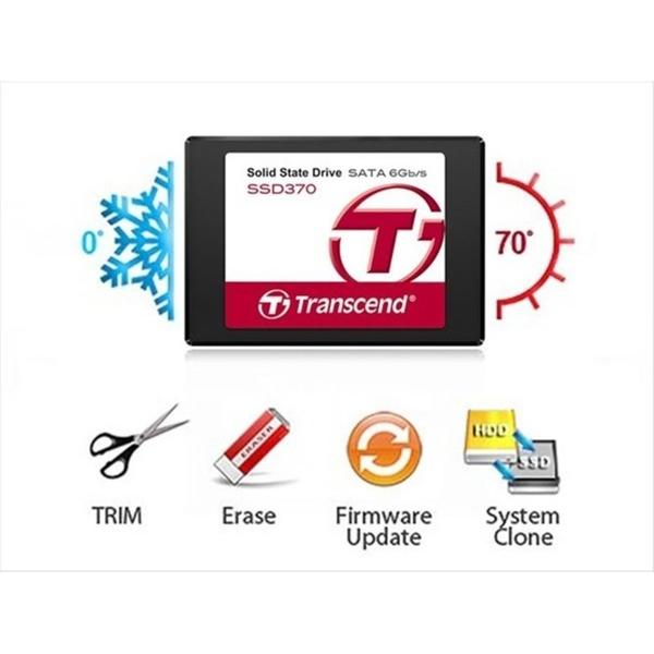 新風尚潮流 創見 固態硬碟 【TS128GSSD370S】 128GB SSD370 讀570寫470 75KIOPS