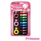 Primomo普麗貓趣味蠟筆(戒指型)12色-附橡皮擦