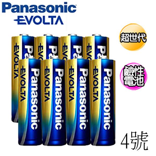 國際牌Panasonic 4號 EVOLTA鹼性電池 4入