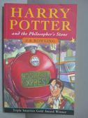 【書寶二手書T1/原文小說_IQN】Harry Potter and the Philosopher s Stone_J. K. Rowling
