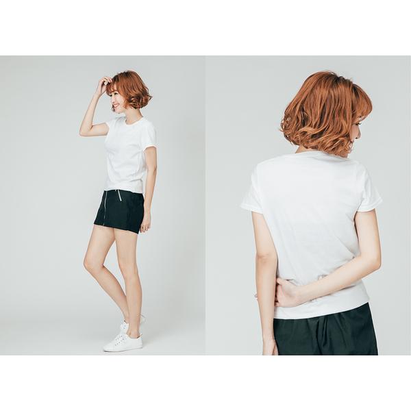 女純棉T恤 美國棉 內衣 Lisco 圓領T恤 慢跑 健身運動 飛輪 皮拉提斯 可參考【FuLee Shop 服利社】