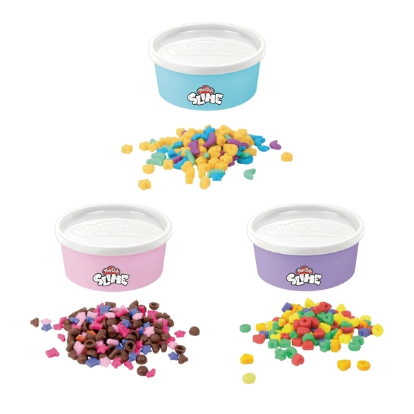 培樂多黏土Play-Doh 繽紛玉米片史萊姆 3入組