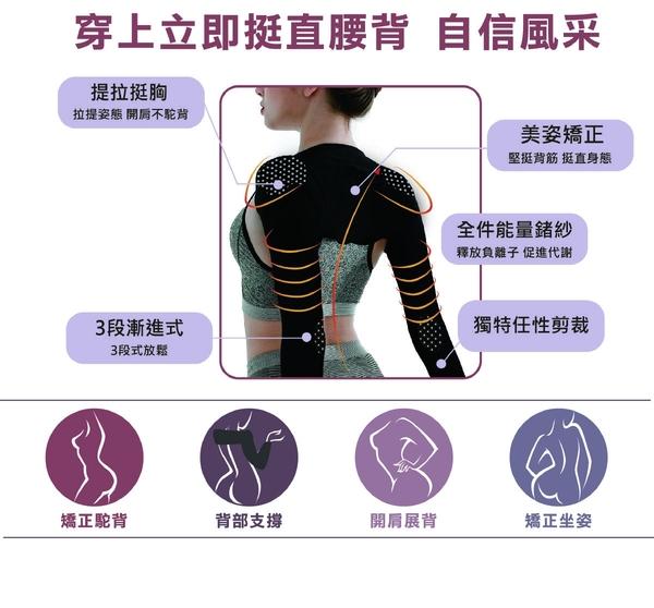 【自然挺】京美鍺紗能量防駝衣