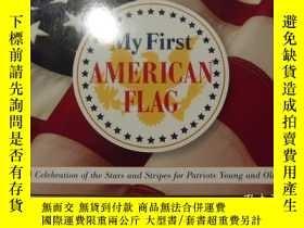 二手書博民逛書店My罕見First AMERICAN FLAG(我的第一面美國國