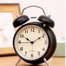 鬧鐘 北歐小鬧鐘床頭夜光學生用兒童靜音創意時鐘臥室鐘表鬧鈴超大聲音【快速出貨八折鉅惠】
