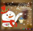 壁貼【橘果設計】耶誕雪人 DIY組合壁貼...