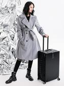 行李箱 箱行李箱鋁框拉桿箱萬女男學生24密碼皮箱子 超級玩家