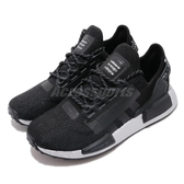 adidas 休閒鞋 NMD_R1 V2 W 黑 銀 女鞋 運動鞋 襪套式 【PUMP306】 FW5449
