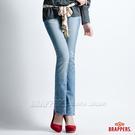 BRAPPERS 女款 Lady Vintage 系列-彈性小喇叭褲-淺藍