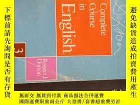 二手書博民逛書店Complete罕見Course in EnglishY20470 Robet j.Dixson REGENT